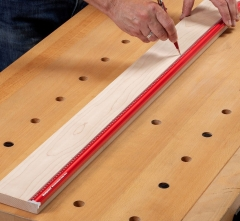 Woodpeckers Woodworkers Winkellineal - 600 mm - Kantenlineal - ERULE-600