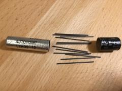 Woodpeckers Ersatz- & Nachfüllmienen 12 Stück - für 0,9 mm Druck-Bleistift