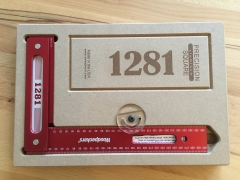 Woodpeckers Precision Square 450mm in Holz Case - OneTIME Tool® - PSQ450